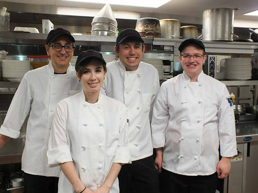 The Cordia kitchen staff