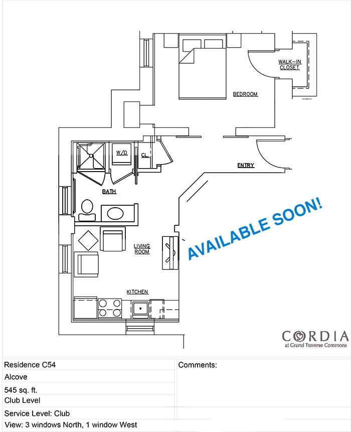 floor plan C54