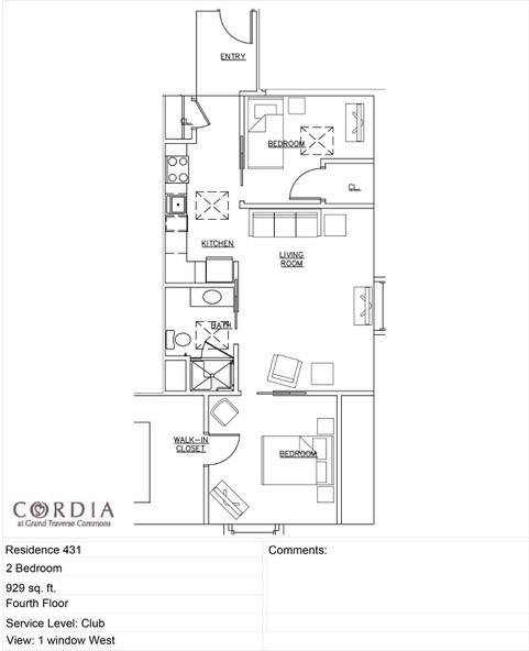Floor Plan 431