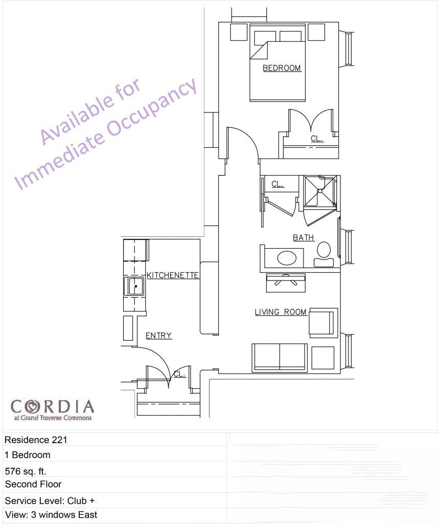 Cordia Floor Plan 253