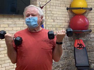 Cordia member lifting hand weights