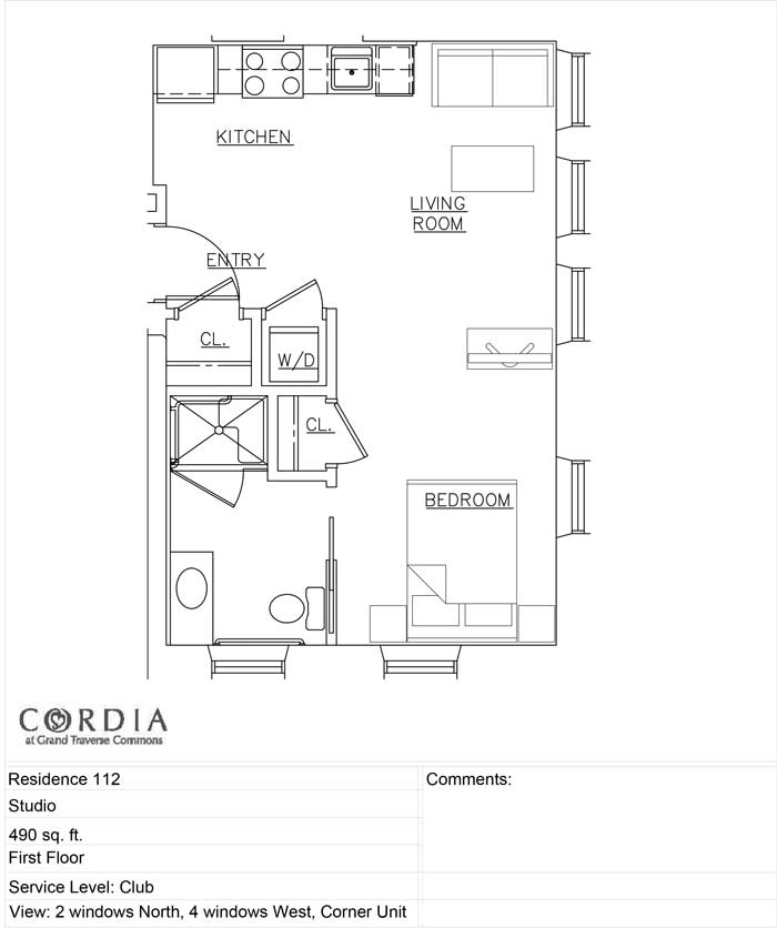 Independent Club Living Private Residences Cordia At Grand Traverse Commons